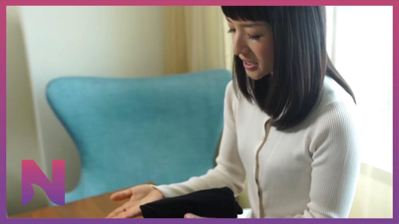 5bea058ff Marie Kondo - How to Fold a T-shirt - YouTube
