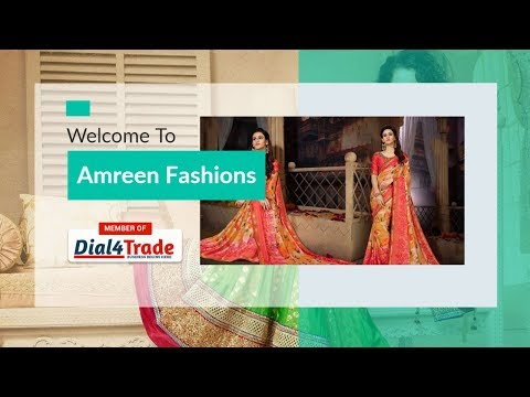 Designer and Cotton Saree Offerd by Amreen Fashions from Bengaluru, Karnataka, India