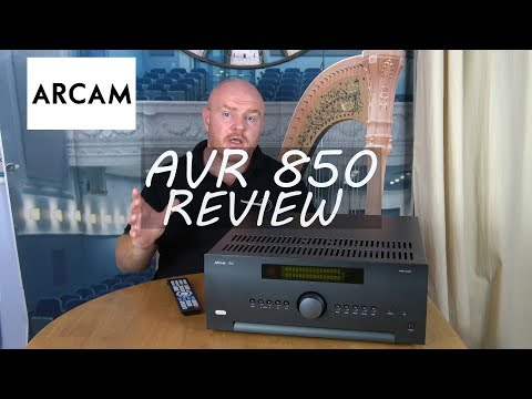 Arcam AVR 850 Review -  How good is this Flagship Home Cinema Receiver Really?