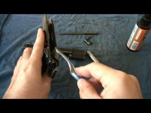 CZ 75 Take-Down & Basic Cleaning
