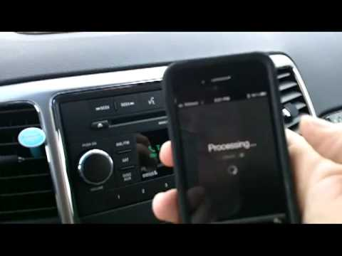how to connect iphone to chrysler uconnect