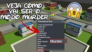 VEJA COMO VAI SER O MODO MURDER NO BLOCK STRIKE