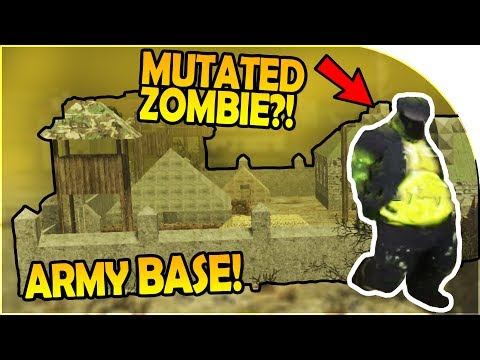 MILITARY BASES! - IRRADIATED ZOMBIE / MUTATED! - 7 Days to Die Alpha 16 Gameplay Part 14