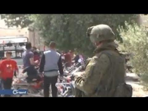 Сирия. Война в Сирии. Русский спецназ охраняют президента Сирии Башара Асада..
