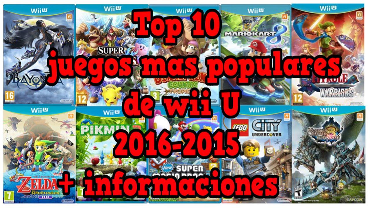 Top 10 Los Mejores Juegos De Wii U 2016 2015 Youtube