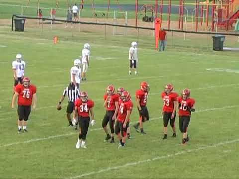 Hicksville Varsity Football Scrimmage vs. Ft. Recovery 8-18-17 (2nd Half)