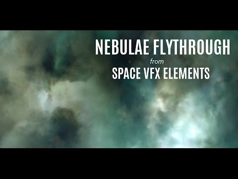 Nebulae Cloud Flythrough in Blender | Free Tutorial