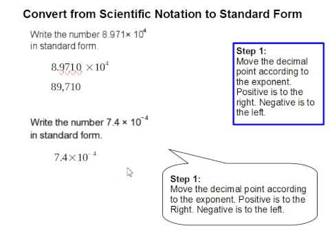 How To Convert Scientific Notation To Standard Form - Youtube