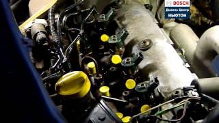 Демонтаж форсунки CR Bosch Renault Traffic 1,9 с помощью мех.съемника