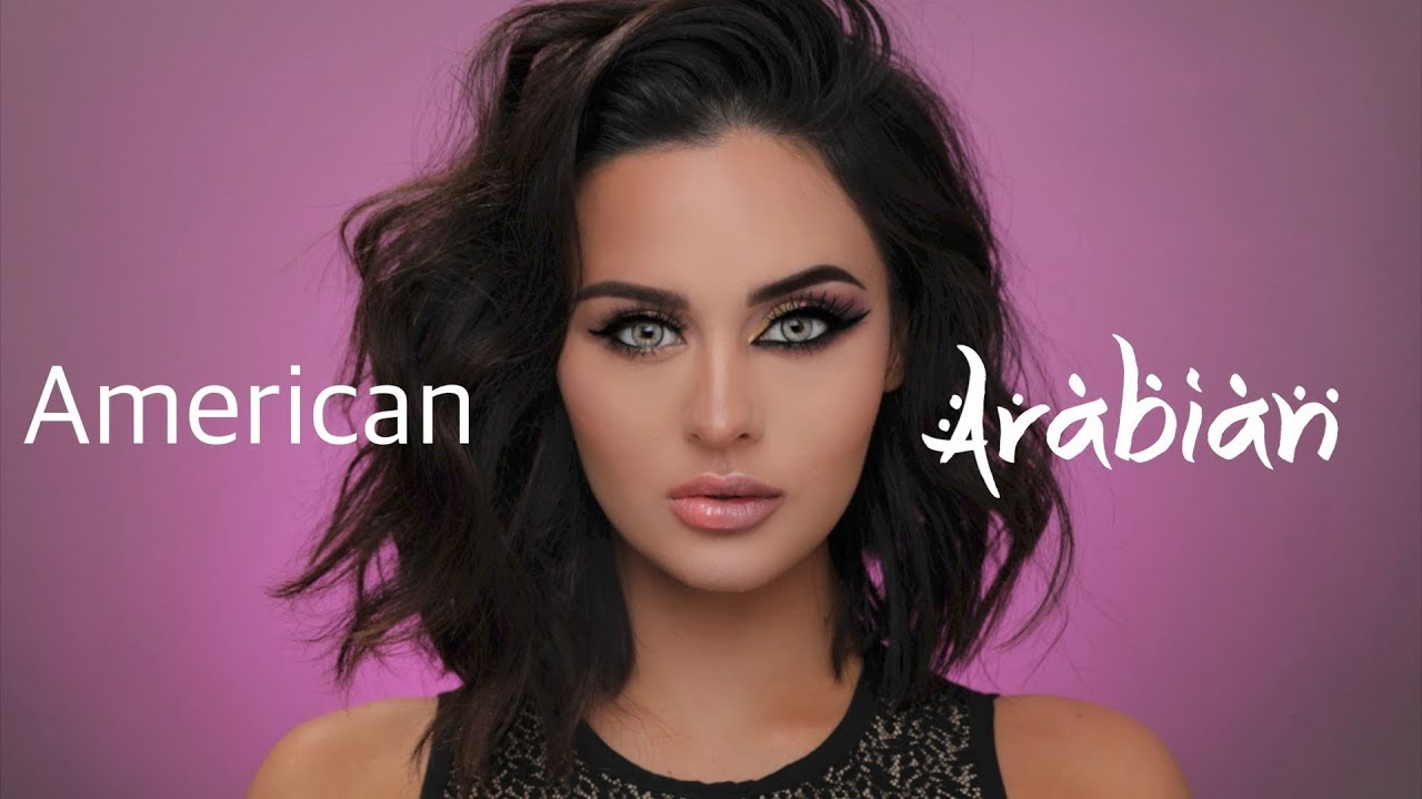 American VS Arab Makeup Tutorial - YouTube