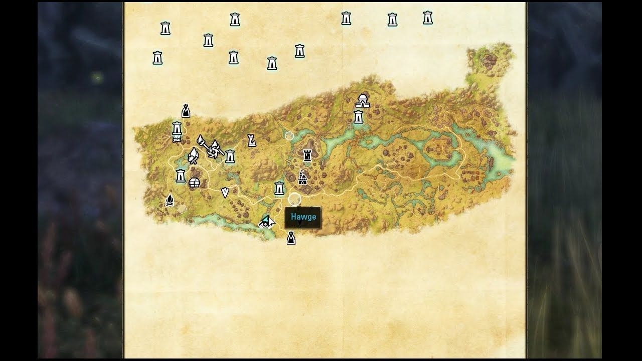 Elder Scrolls Online - CE Treasure Map Deshan - YouTube on