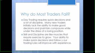 Day Trading Strategies (momentum) for Beginners: Class 1 of 12