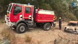 Episode venteux en Haute-Corse : les pompiers mobilisés face au risque incendie très élevé