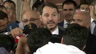 Maliye Bakanı Berat Albayrak'tan Hakan Atilla Açıklaması