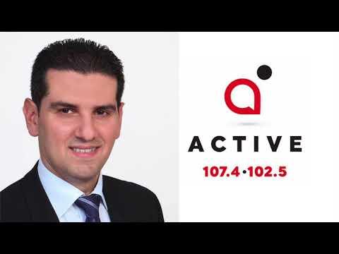 Μιχάλης Δαμιανός, Λύσεις για ΜΕΔ, Active Radio Cyprus, 12 Μαρτίου 2018