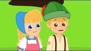 2 Contos | Hansel e Gretel + Heidi - desenhos Animados  com Os Amiguinhos