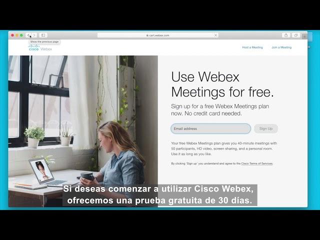 ¿Dónde descargar Webex?