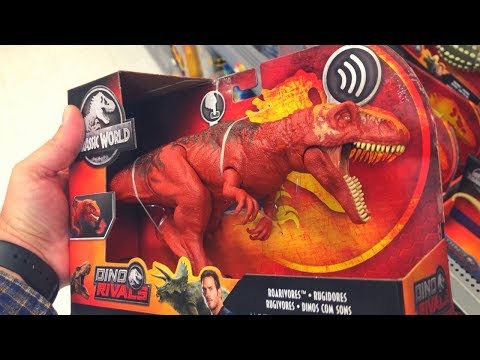 Fallen Kingdom Finds   NEWEST ROARIVORES   Jurassic World MERCH HUNT!