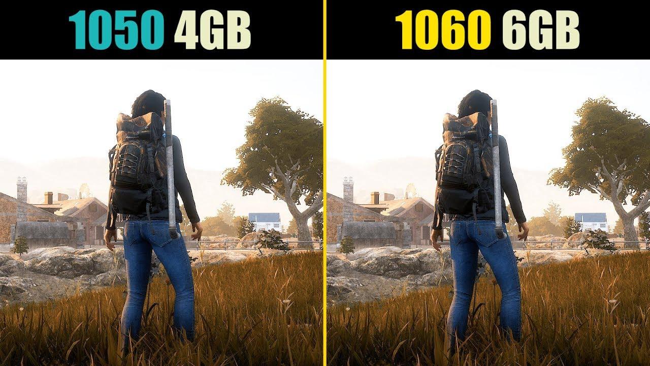 State of Decay 2 GTX 1050 Ti vs  GTX 1060