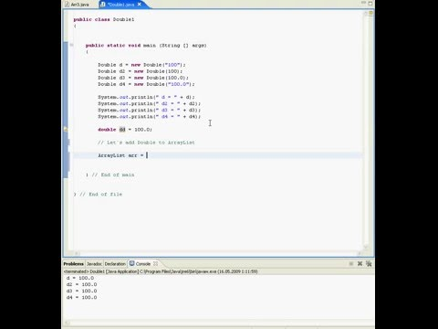 java-tutorial-in-eclipse-(wrapper-class-double)