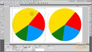 Adobe Fireworks Tutorial on How to Make 3D Vector Pie Charts
