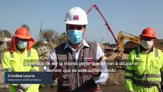 Subsecretario del MOP encabeza Primera Piedra de reposición de la principal avenida de Melipilla