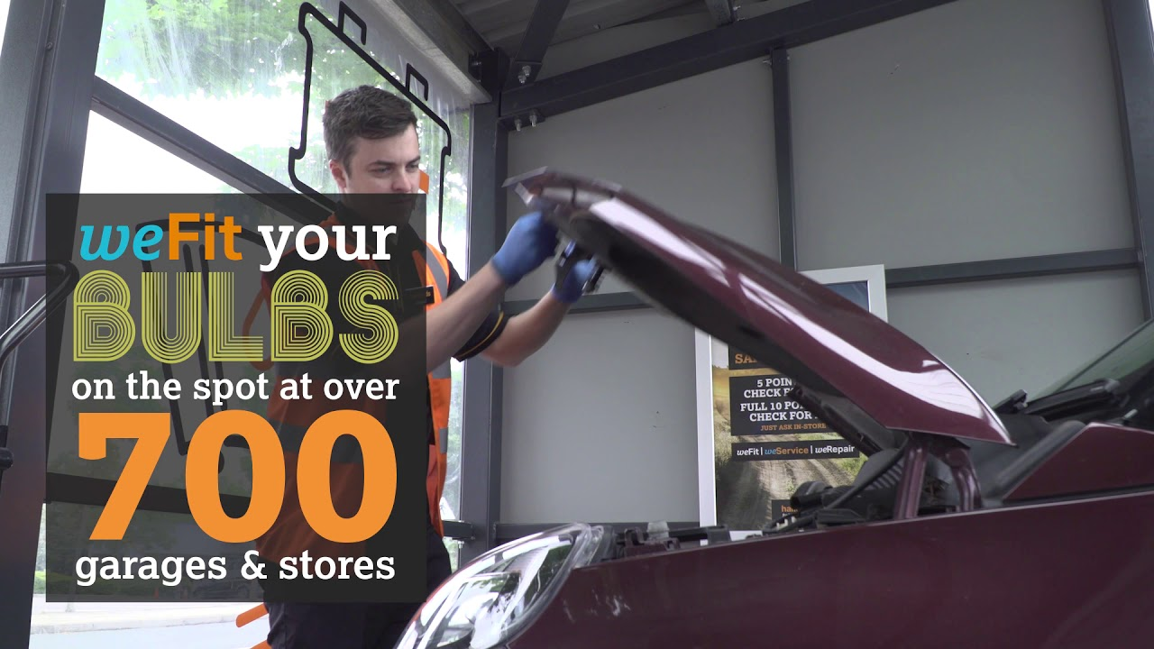 We Fit Your Bulbs at our Stores and Garages | Halfords UK