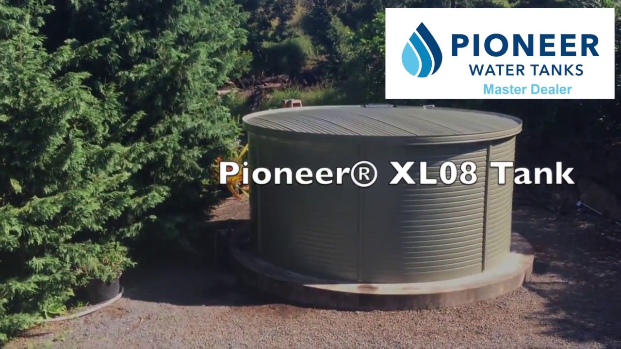 Pioneer Water Tank Installation In Maui: 9,907 Gallons Of Clean Water  Storage