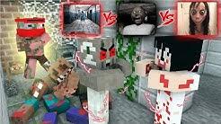 Monster School : GRANNY VS MOMO AT HORROR HOSPITAL - Minecraft Animation