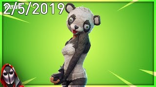 Chef d'équipe P.A.N.D.A - Wukong are Back! 5 février New Skins ( Magasin d'objets Fortnite quotidien