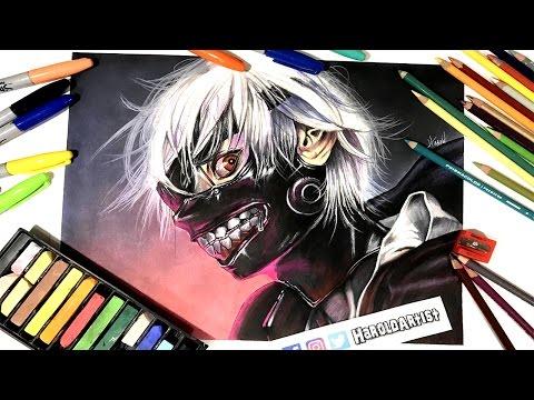 dibujo-de-kaneki-de-tokyo-ghoul