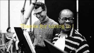 Summer Song ~~ Louis Armstrong & Dave Brubeck