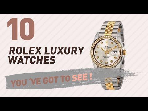 Rolex Luxury Watches For Women // New & Popular 2017