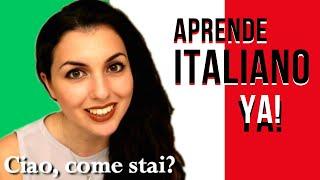 COMO APRENDER A HABLAR ITALIANO | aprender italiano rapidamente| - LECCIÒN N.2
