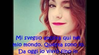 Nel mio mondo-Violetta (En mi mundo-Italiano)