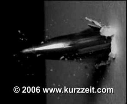 Bullet in Flight Slow-Mo Video