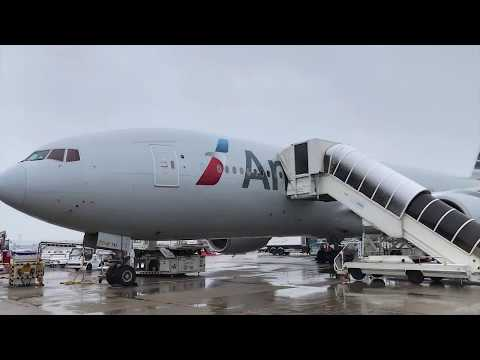 American Airlines Miami To Paris CDG. Flight Report.