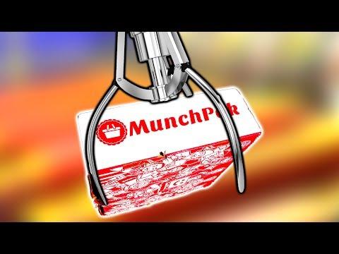 Winning Food From Munch Pack In My Claw Machine! MunchPack Arcade Crane Game | Matt3756
