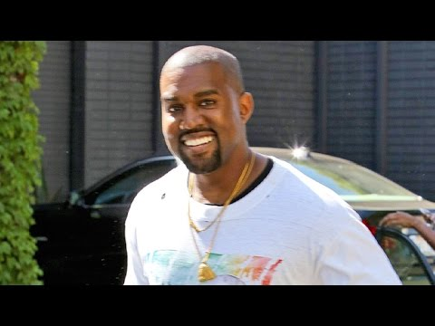 Kanye West Smiles Hysterically When Asked If He Still Might Sleep With Taylor Swift