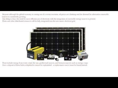 Best new solar panels for home  renewable energy