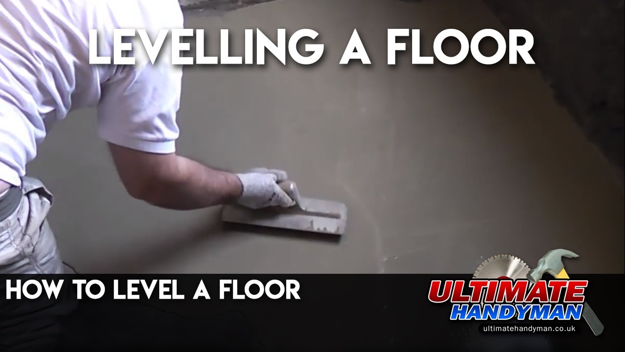 How to level a floor youtube dailygadgetfo Image collections