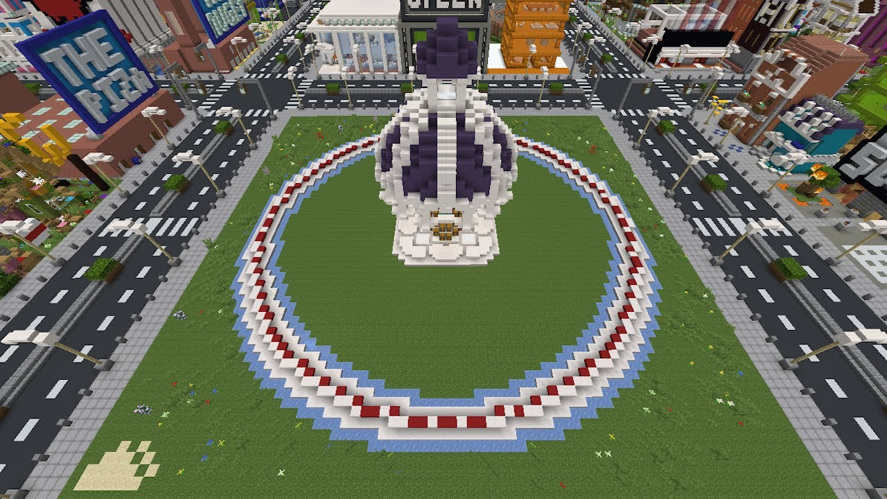 We made a 200 Player Minecraft Hunger Games