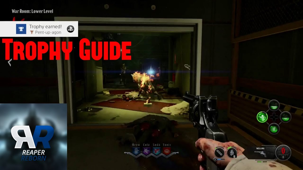 """Cod black ops 4 classified """"cold war remedy"""" trophy guide."""