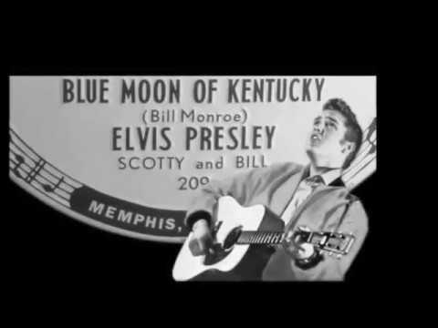 Blue Moon of Kentucky - Karaoke Presley Cover