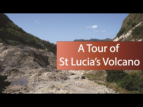 A Tour Of St Lucia's Volcano | The World's Only Drive In Volcano | The Sulphur Springs In St Lucia