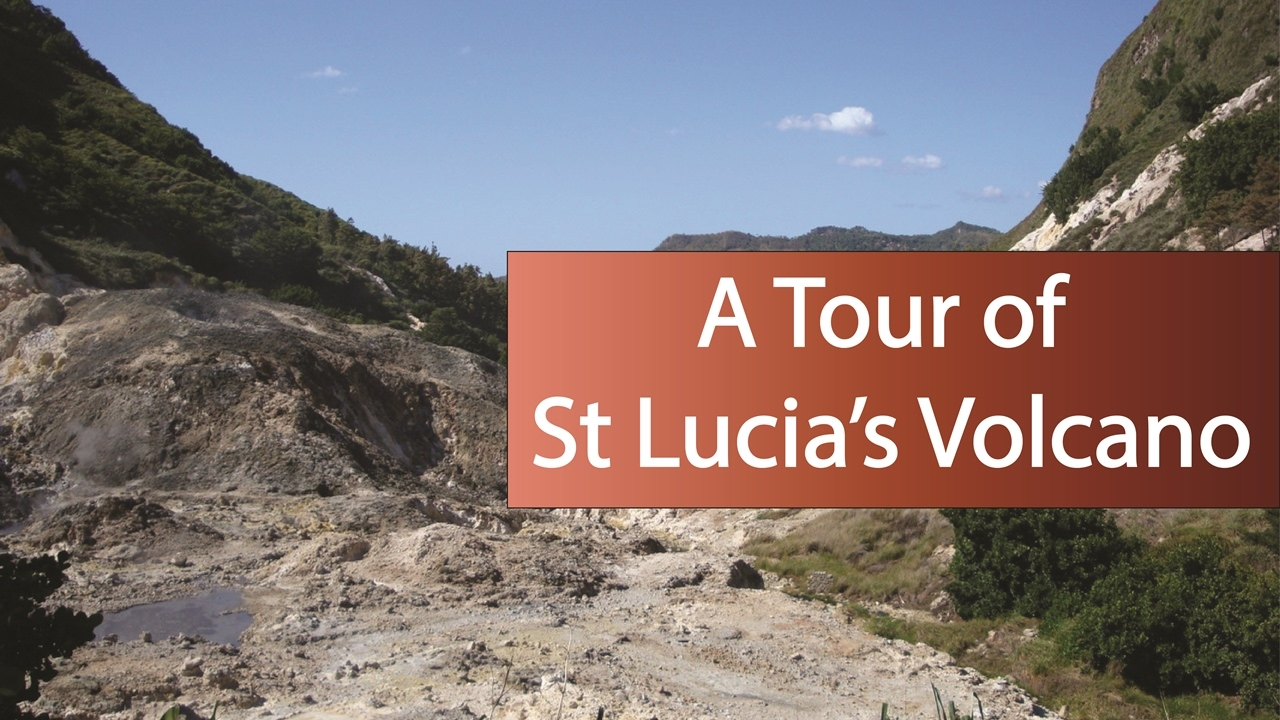 A Tour Of St Lucias Volcano The Worlds Only Drive In