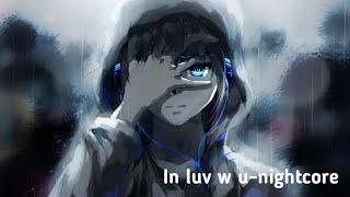 In luv wu-nightcore(lyrics)