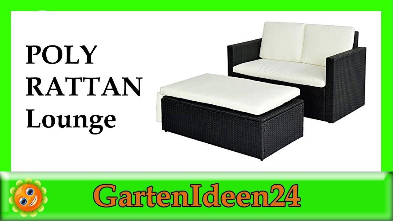 POLY RATTAN Lounge Gartenset | Gartenideen hilft Dir bei der Suche ...