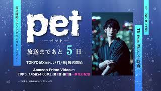 TVアニメ「pet」カウントダウンボイス OPテーマ担当:TK from 凛として時雨/あと5日!