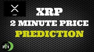 XRP RIPPLE 2-MINUTE PRICE PREDICTION (BULL RUN COMING?)